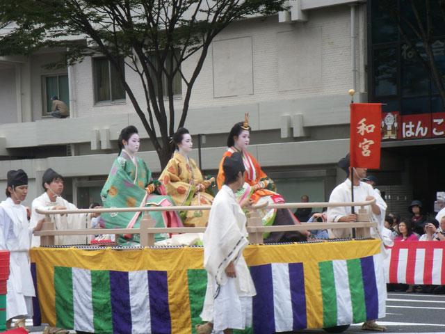 時代祭 和宮 2010年(於御池通)
