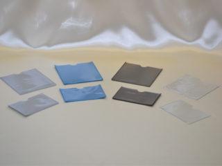 ウェルダー加工商品 上段:在庫管理タグ 下段:名刺サイズ