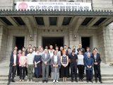 京都市役所表敬訪問 市長と参画企業、パリのデザイナーと共に 2016/05/16