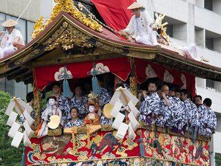 祇園祭 山鉾巡行 長刀鉾 2017