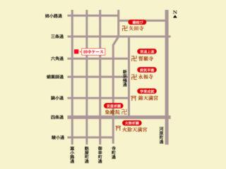 近隣の社寺仏閣マップ