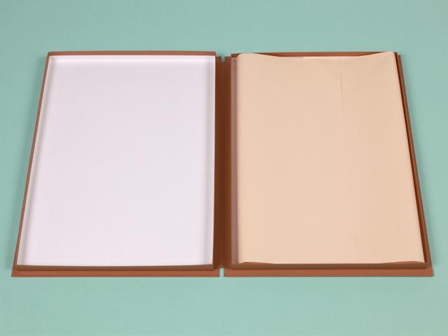 A3サイズ書類、図面用ポートフォリオ~産学連携~