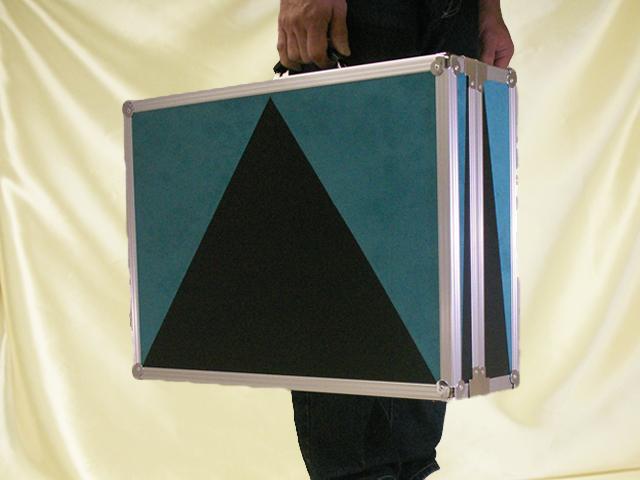 ネギ型ライト(サイリウム)用アルミケース(モバイル)
