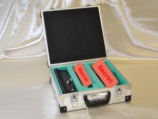 分析装置:線量計用アルミケース