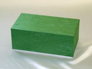 茶こし用ギフト紙器(緑色:大)【辻和】