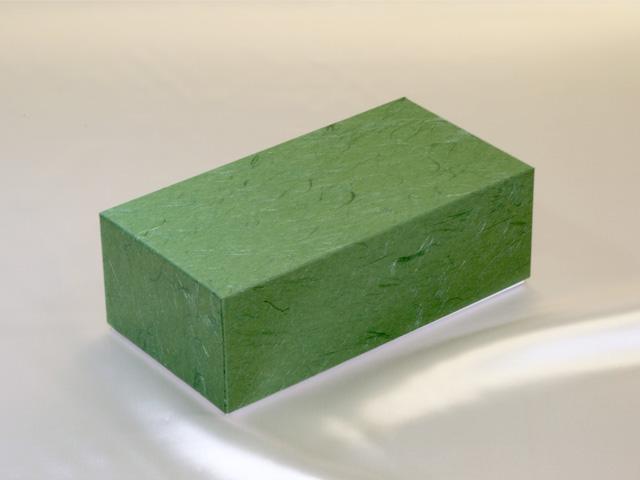 茶こし用ギフト紙器(緑色:中)【辻和】