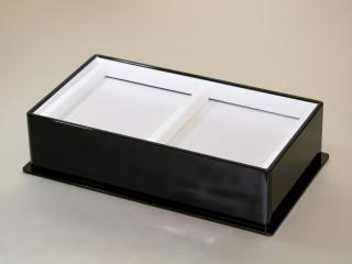 お香用高級黒漆塗り箱