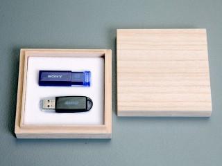 USBメモリー用桐箱