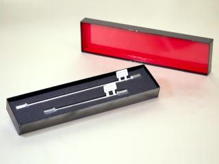 クールな漆風日本製 HPLC Column(カラム) パッケージ(貼箱、紙箱、紙器)