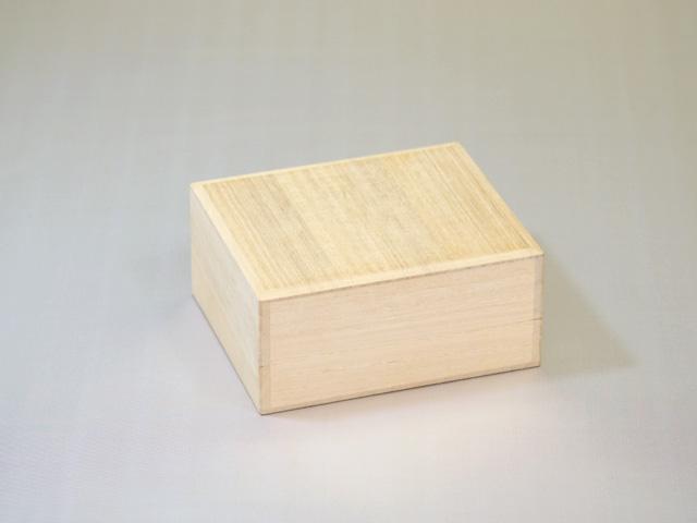 高級感ある桐箱「印章・印鑑ケース」~一本入れ~(外観)