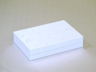 高級感あるヤロウ式紙器・貼箱「印章・印鑑ケース」~3本入れ~(外観)