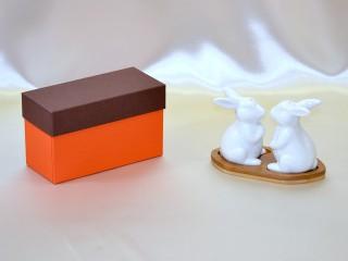 うさぎ(調味料、お香入れ)の収納箱、紙器、貼箱